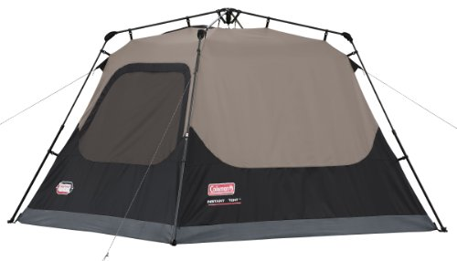 Coleman 4-Person Instant Tent u2013 A good branded option for a small family  sc 1 st  Tent Buying Guide & 2019 Best Family Tent Reviews: 5 Tents for Weekend Bonding