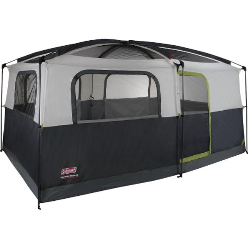 Coleman Prairie Breeze Cabin Tent u2013 Most water resistant on test u0026 includes an LED light plus our overall pick of the test!  sc 1 st  Tent Buying Guide & 2018 Best Family Tent Reviews: 5 Tents for Weekend Bonding