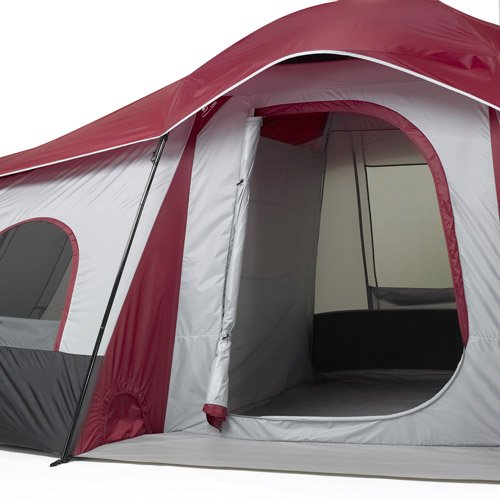 Intended for use by groups of up to 10 people this Ozark 3-room tent includes a center door and 2 side doors. There are 6 windows with flaps for maximum ... : 6 room tent - memphite.com