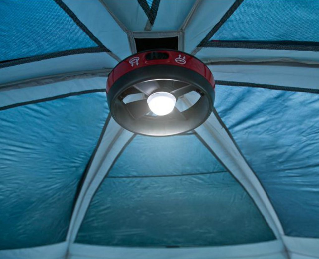 Coleman Fan Light for Prairie Breeze Family Tent