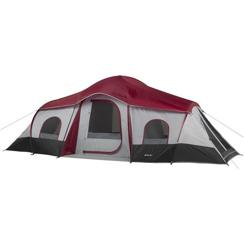 Ozark Trail 3-Room 10-Person XL Vacation Tent Cabin Family C&ing Hunting Outdoor u2013 Great for large groups or families  sc 1 st  Tent Buying Guide & 5 of the Best 10 Person Tent Reviews For 2018