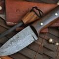 Bushcraft Knife with Sheath & Sharpener