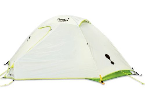This bright tent is designed to sleep just one. It is great for backpackers because it doesnu0027t weigh much and the poles fasten to clips instead of having to ...  sc 1 th 190 & The Best Eureka Tents For Camping This Year