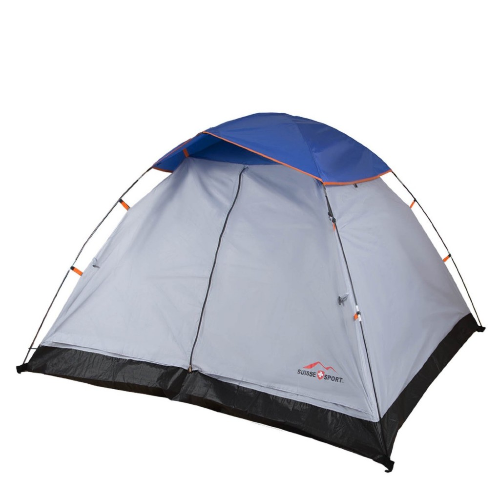 Suisse Sport Dome Tent in Grey/Blue