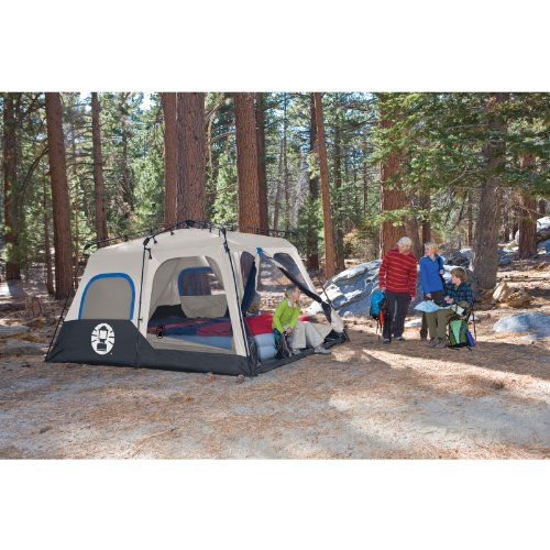 Coleman 8-Person Instant Tent u2013 Waterproof and durable with lots of space  sc 1 st  Tent Buying Guide & 5 Of The Best Large Camping Tents For 2017 Reviewed