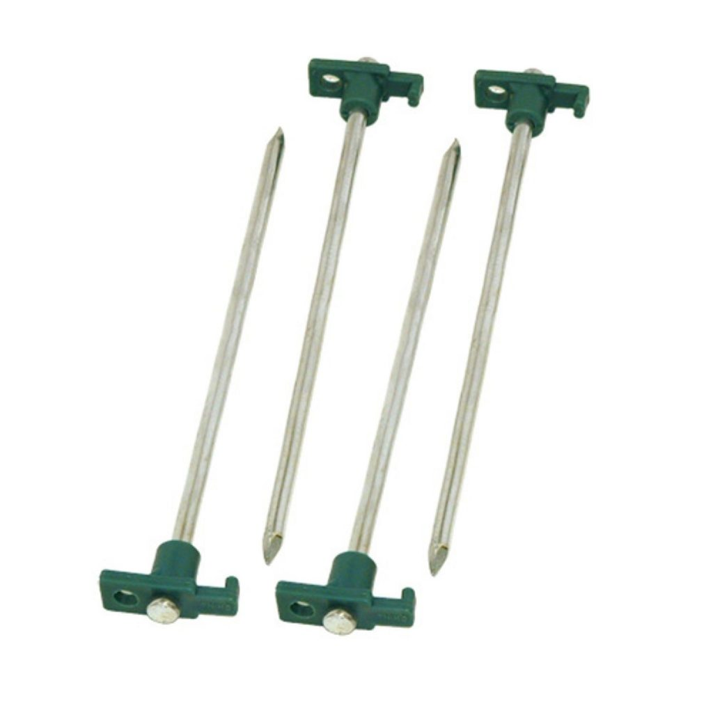 Coleman tent pegs