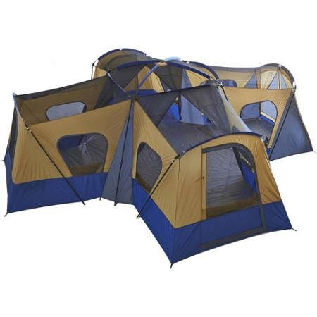 13565e95dd 3. Ozark Trail Base Camp 14-Person Cabin Tent – For large groups of friends  or families seaking lots of room