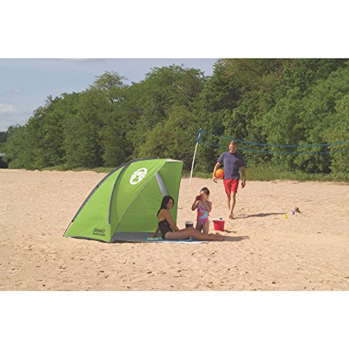 Coleman Compact Shade Shelter u2013 Plenty of room well made and can be zipped up for privacy u2013 the best baby beach tent on test  sc 1 st  Tent Buying Guide : best family beach tent - memphite.com