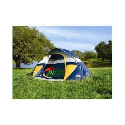 The Northwest Territory Dome Tent is another model which accommodates a total of 3 occupants. This tent is easy to assemble and has a total inside area of ...  sc 1 st  Tent Buying Guide & 3 Top Northwest Territory Tents u0026 Best Tent For Windy Conditions
