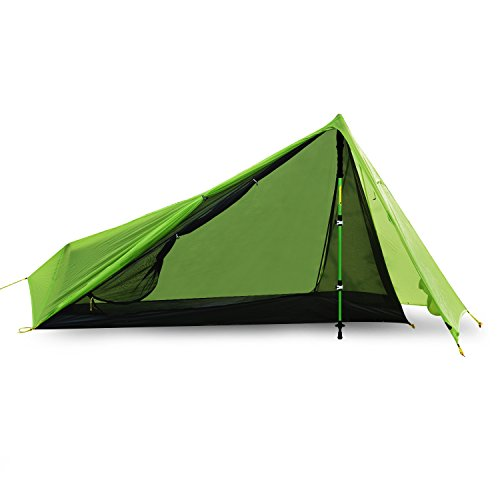 Andake One Person Tent u2013 Lightweight and waterproof making it the best solo tent on test  sc 1 st  Tent Buying Guide & Best One Person Tent Under $100: 5 Solo Tent Reviews