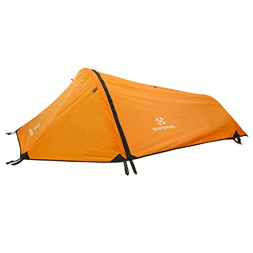 Winterial 1 Person Tent Personal Bivy Tent u2013 Low cost and easy to transport single man tent but not great for taller people  sc 1 st  Tent Buying Guide : one pole tents - memphite.com