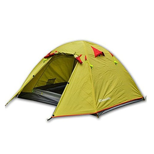 Weanas Waterproof Double Layer 2-Person Backpacking Tent u2013 Cheap enough but tighter on space than the alternatives  sc 1 st  Tent Buying Guide : best two man tent for backpacking - memphite.com