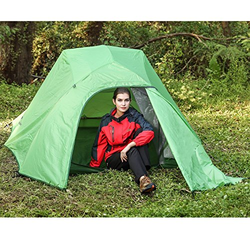 The materials used to make the Topnaca double layer backpacking tent are very strong and this is what makes the tent stand out. Itu0027s the kind of tent that ...  sc 1 st  Tent Buying Guide & Whatu0027s the Best Two Person Tent Under $100 - 5 Tent Super Test
