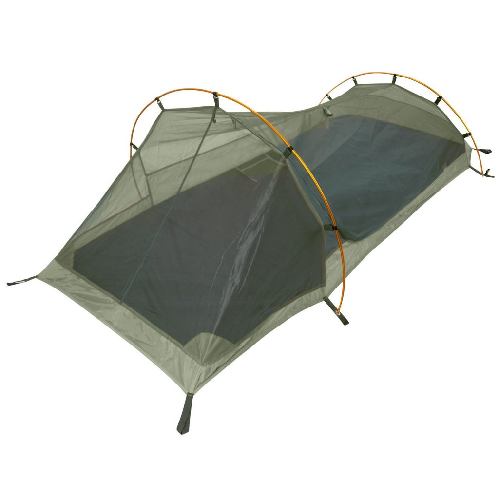 Winterial inner tent with hooped construction