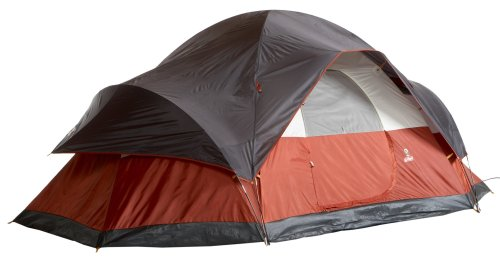 Coleman 8-Person Red Canyon Tent u2013 A dome style tent with good ventilation  sc 1 st  Tent Buying Guide & Best 8 Person Tent For Group or Family Camping: 8 Person Tent Reviews