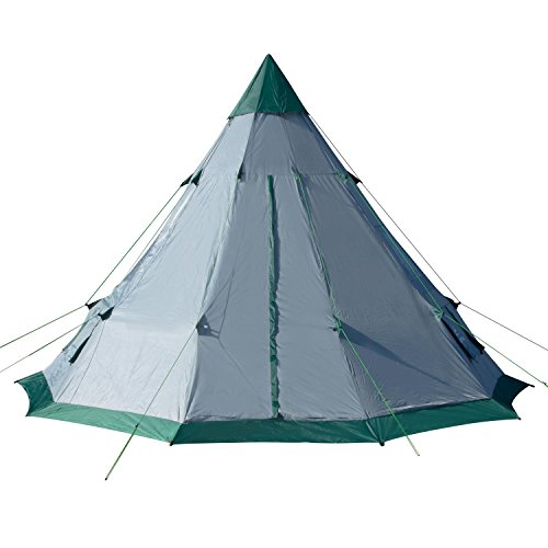 Winterial Teepee Tent 12u2032 x 12u2032 u2013 A durable option for families or friends  sc 1 st  Tent Buying Guide & Best Teepee Tent For Camping: 3 Teepee Style Tent Reviews