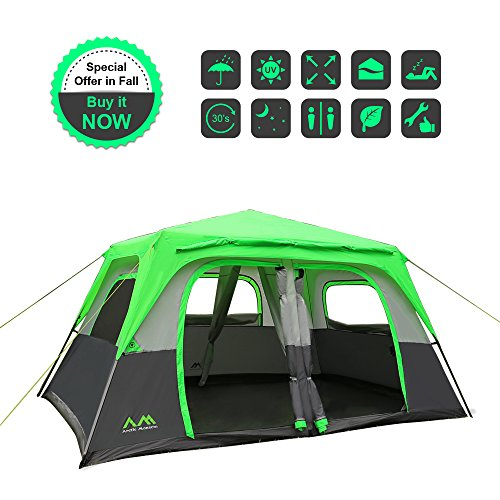 4. Arctic Monsoon 8-Person Starry i1 Tent u2013 Sturdy and well made a good buy for most  sc 1 st  Tent Buying Guide & Best 8 Person Tent For Group or Family Camping: 8 Person Tent Reviews
