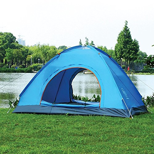 Pop Up Tent by Survival Hax u2013 An OK automatic pop up tent for a one off c&ing trip in the Summer  sc 1 st  Tent Buying Guide & Best Pop Up Tent For Camping: 5 Instant Tent Reviews
