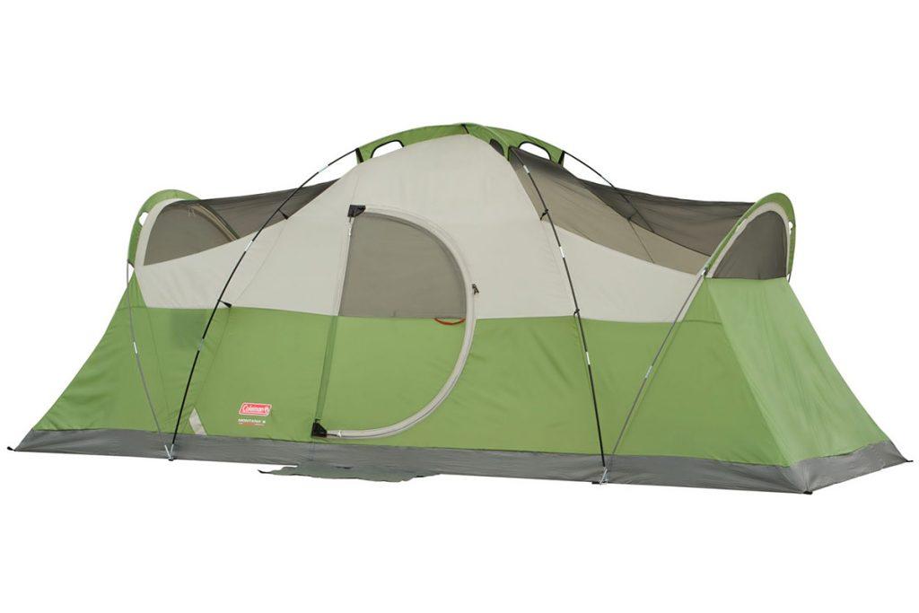 Coleman Montana tent pole structure