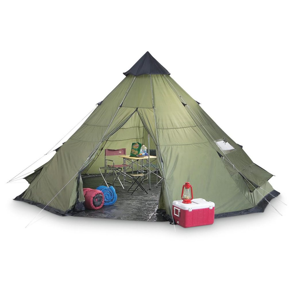 Guide Gear Teepee Tent 14 Feet