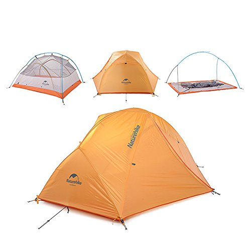 Naturehike 4 Season 2 Person Tent Super Waterproof Ultralight C&ing Tent u2013 One of the best cold weather tent options but a little on the small side  sc 1 th 225 & 5 Cold Weather Tents Reviewed: Which Will Keep You Warmest in Winter?
