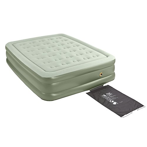 coleman supportrest double high airbed u2013 the best air mattress for camping on test here