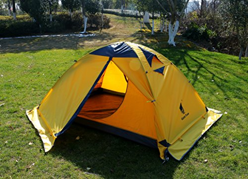 The Geertop 2-person 4-season Backpacking Tent is a very simple but effective type of tent. It is designed to be a multipurpose option that is easy to carry ... & 5 Cold Weather Tents Reviewed: Which Will Keep You Warmest in Winter?