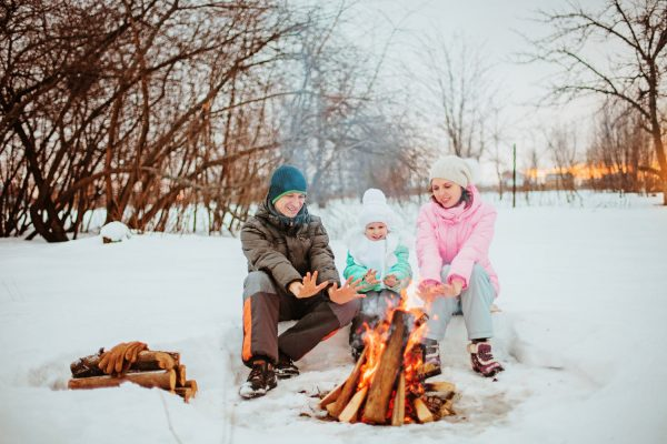 How to Stay Warm Camping in Cold Weather