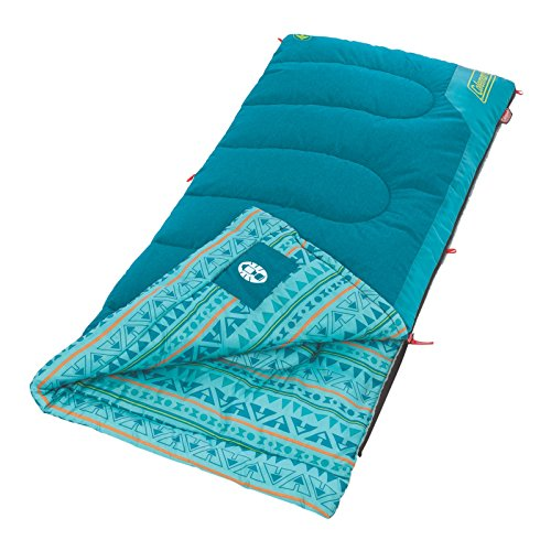 e620f7d07c3 Coleman Kids 50 Degree Sleeping Bag – Not the warmest or biggest but good  value and some neat features included