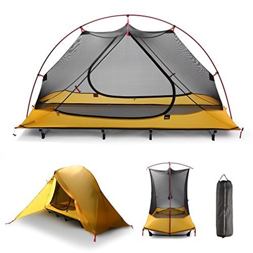 iUcar Portable C&ing Tent Cot Off Ground Tent with Carry Bag  sc 1 th 225 & 3 Best Cot Tents For Camping Solo 3 Warm Off Ground Tent Options