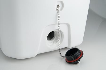 Yukon Cooler drain plug detail