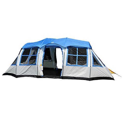 This 12 person cabin tent from Tahoe Gear sits tall at 6ft 6 inches high in the center. This provides plenty of room for most c&ers to stand up and walk ...  sc 1 st  Tent Buying Guide & Best 12 Person Tent For Camping As A Family or in Groups