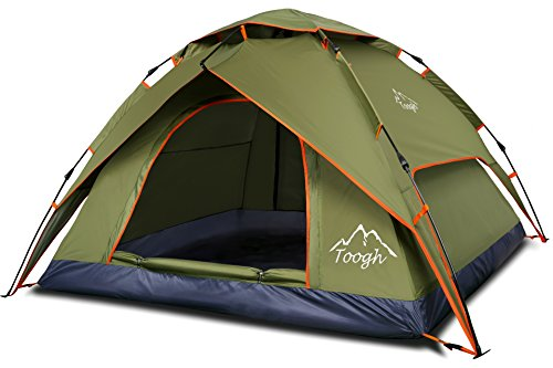 Pop Up Tent by TSWA u2013 A roomy pop up tent good enough for 3  sc 1 st  Tent Buying Guide & Best Pop Up Tent For Camping: 5 Instant Tent Reviews