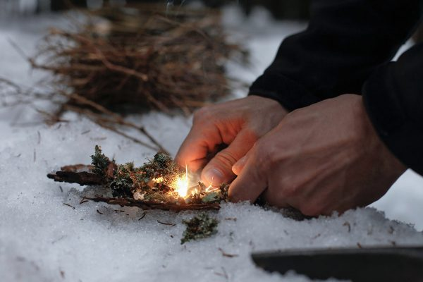 How to Light a Survival Fire When You're Stranded Alone