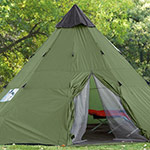 Guide Gear 18u0027 x 18u0027 Teepee Tent ... & Best Teepee Tent For Camping: 3 Teepee Style Tent Reviews