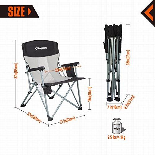 Best Camping Chair For Comfort Portability Heavy Duty Use