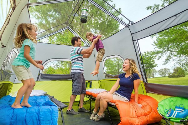 Best 3 Room Tent For A Family or Mixed Camping Group