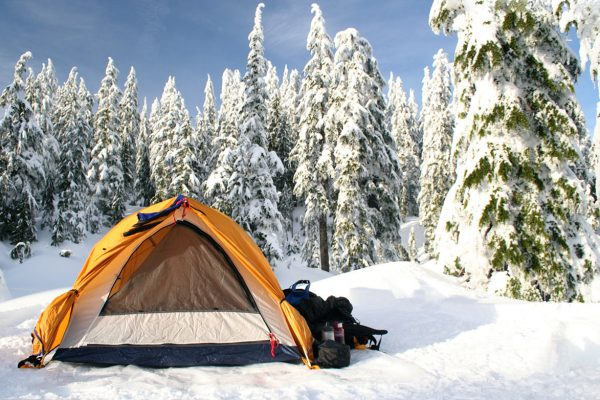 How to Set Up a Tent in the Snow