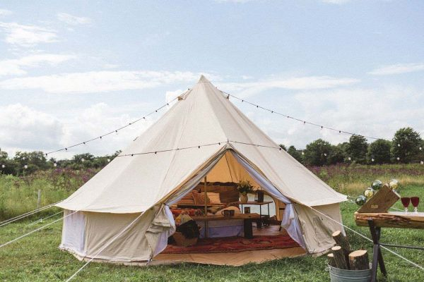Best Canvas Bell Tent For Luxury Camping Accommodation