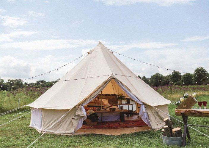 DANCHEL Cotton Canvas Bell Tent