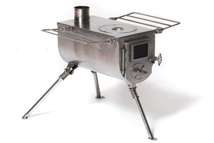 Winnerwell Woodlander medium sized tent stove